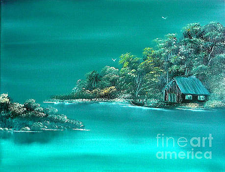 Emerald Isle 2 by Cynthia Adams