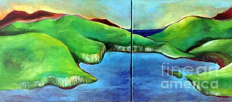 Emerald Isles by Elizabeth Fontaine-Barr