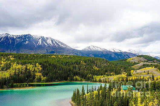 Emerald Lake 8 by Mary Carol Story