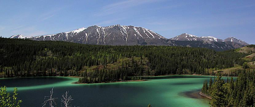 Marv Russell - Emerald Lake Panorama