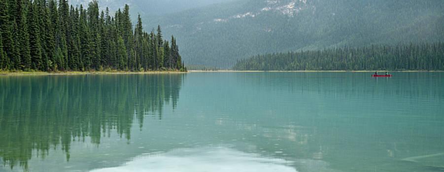 Emerald Lake Yoho Park Canada by Steve Gadomski