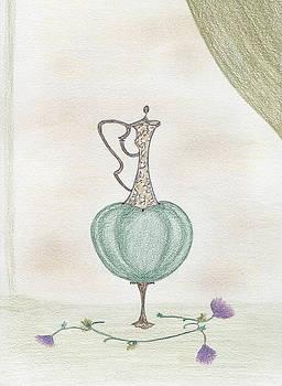Emerald Urn by Christine Corretti