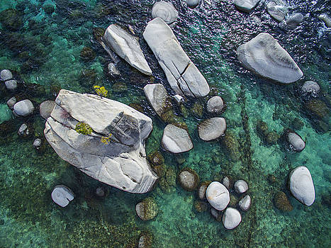 Emerald Waters - Bonsai Rock, Lake Tahoe by Brad Scott