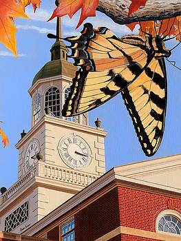 Emergence of the Butterfly by Christopher Spicer