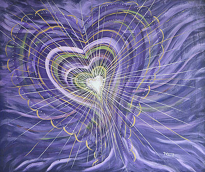 Emerging Heart by Judy M Watts-Rohanna