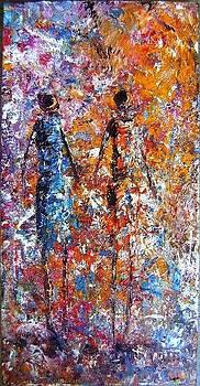 Emerging Ladies by Joseph Muchina