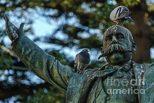 Emilio Castelar Statue Cadiz Spain by Pablo Avanzini