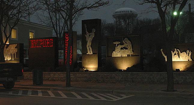 Michael Rutland - Empire Square at Night