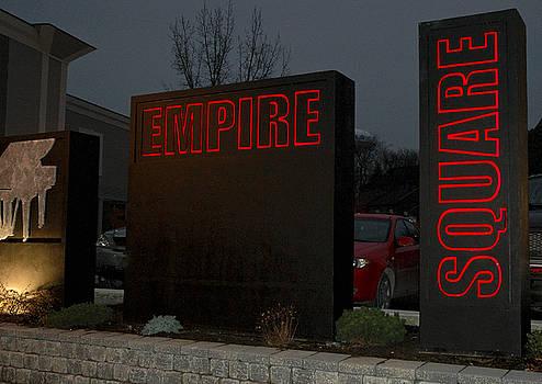 Michael Rutland - Empire Square Signage