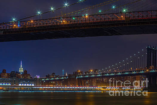 Empire State Building from Brooklyn Bridge by Studio Laurent