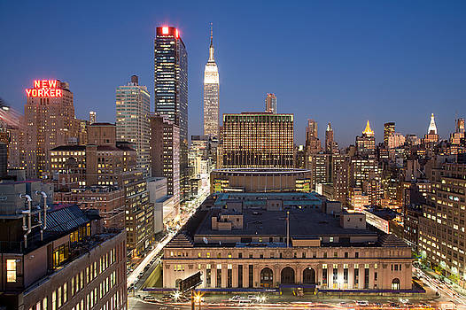 Empire State Building New York City Skyline by Binh Ly