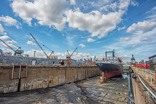 Empire State Dry Docked by Dennis Clark