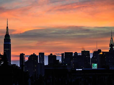 Empire sunset by Terepka Dariusz