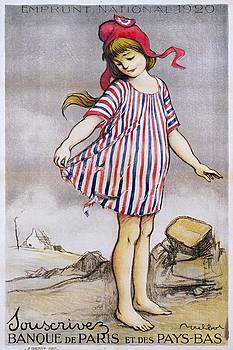 Emprunt National propaganda poster, 1920 by Vintage Printery