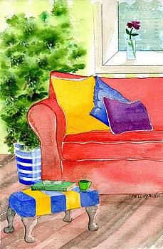Empty Chair Series 4 by Melody Allen