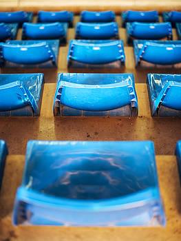 Eduardo Huelin - Empty Plastic Chairs at the Stadium