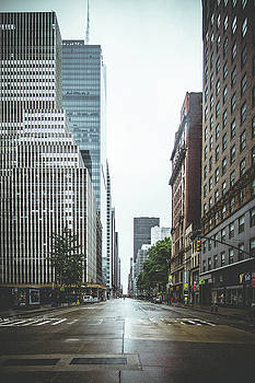 Empty Streets - New York City by Thomas Richter