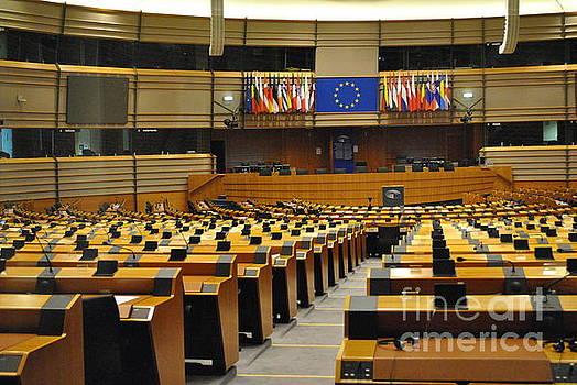 Jost Houk - Emptyness of the European Parliament