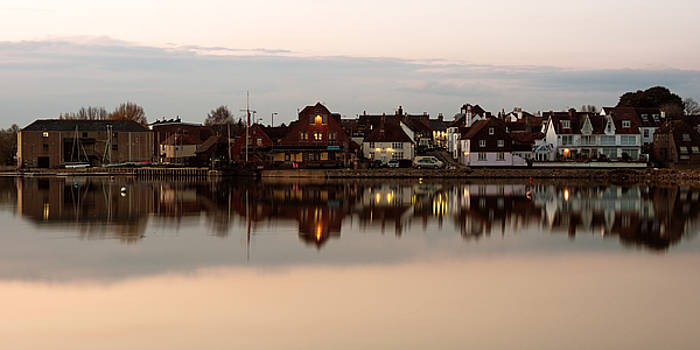 Emsworth at Dusk by Trevor Wintle