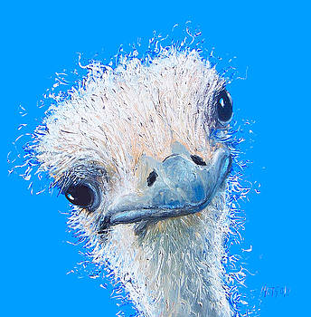 Jan Matson - Emu painting