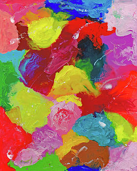 Encaustic  Color  Study by Carl Deaville