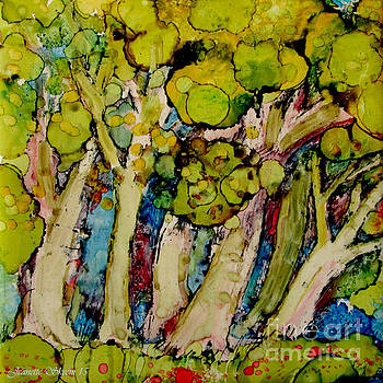 Enchanted Forest  by Jeanette Skeem