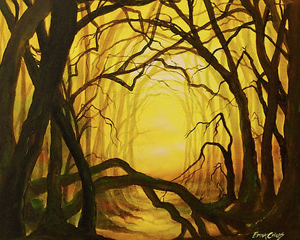 Enchanted Golden Forest by Emma Childs