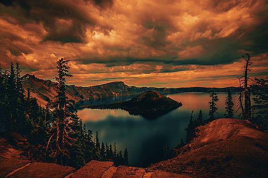 Enchanted Lake No.2 by Bonnie Bruno