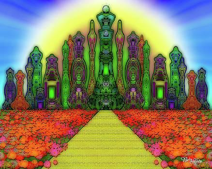 Enchanted Path #004 by Barbara Tristan