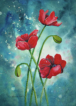 Enchanted Poppies by Melanie Pruitt
