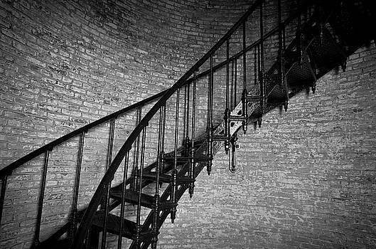 Enchanted Staircase II - Currituck Lighthouse by David Sutton