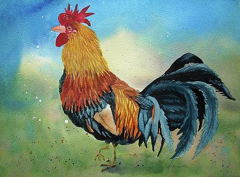 Enchanting Rooster by Melanie Pruitt