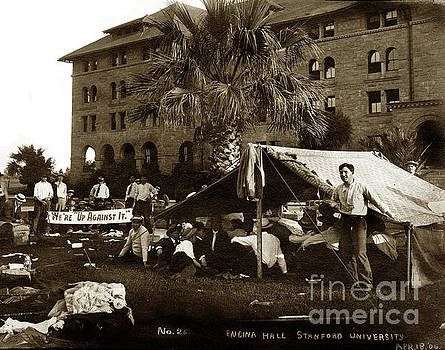 California Views Mr Pat Hathaway Archives - Encina Hall residents camp outside following the San Francisco E