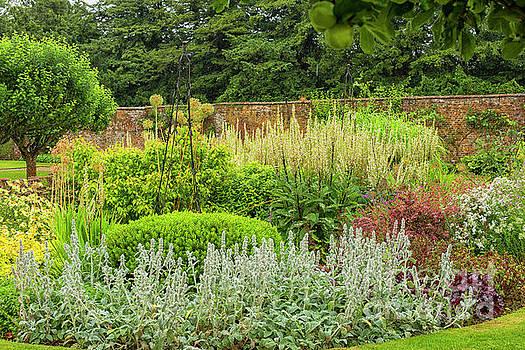 Enclosed English garden by Patricia Hofmeester