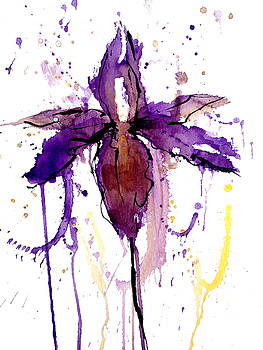 Enclosed in Ink-Iris by Garima Srivastava