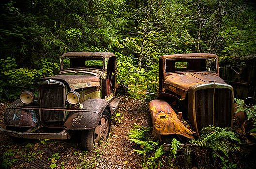 End of the Road by Larry Goss