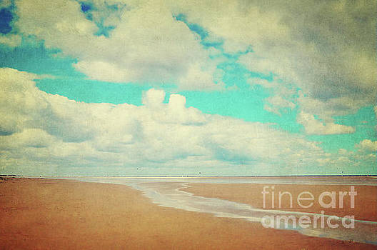 Endless beach by Angela Doelling AD DESIGN Photo and PhotoArt