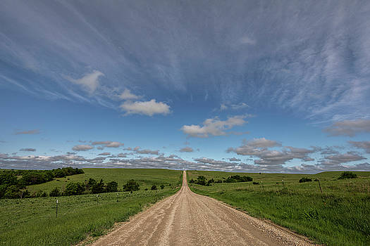 Endless Country Road by Scott Bean