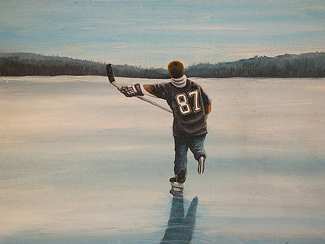 Endless Ice - Sid the Kid by Ron  Genest