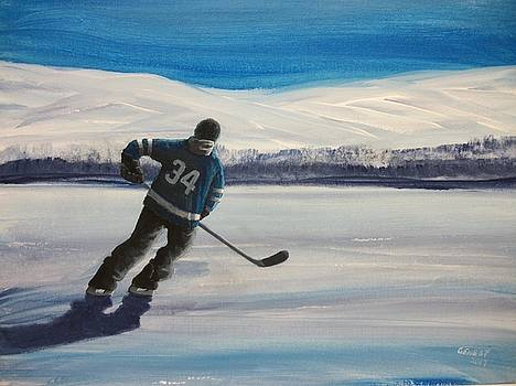 Endless Ice 34 by Ron Genest