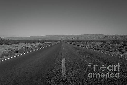 Endless Road BW  by Michael Ver Sprill