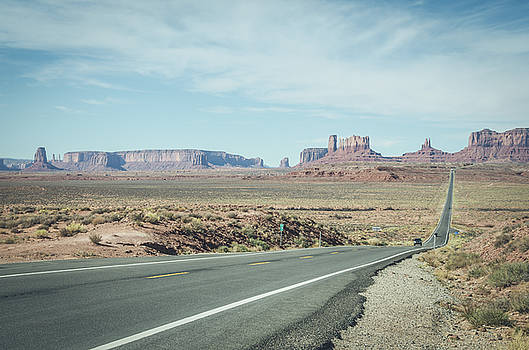 Margaret Pitcher - Endless Roads in Monument Valley