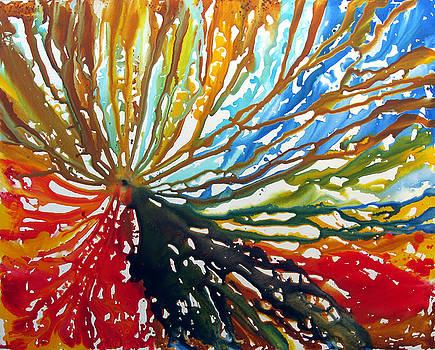 Energy Flow  by Marina K Rehrmann