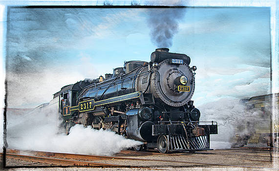 Engine 2317 -Russell border by Rich Walter