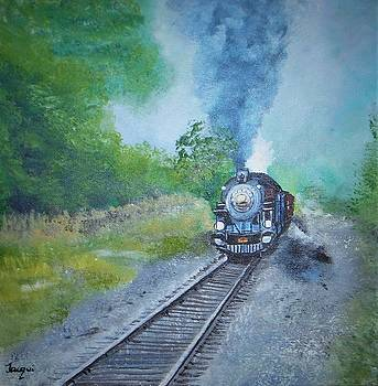 Engine 425 by Jacqueline Whitcomb