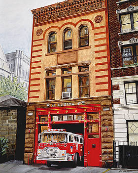 Engine Company 47 by Paul Walsh
