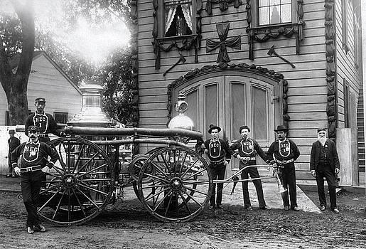 Daniel Hagerman - ENGINE COMPANY NO. 1 FIRE DEPT - HONOLULU - c. 1890