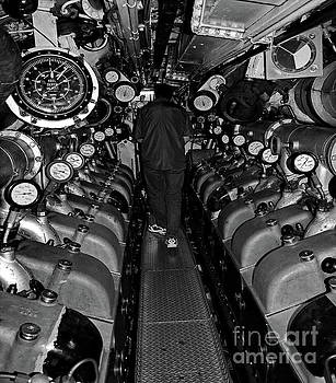 Tim Richards - Engine Room BW