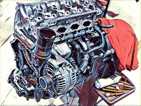 Engine  by Shehan Wicks