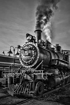 Sharon Popek - Engine Steam Black and White